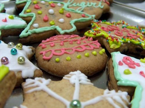 Biscotti-di-Natale-decorati-da-appendere-all-Albero