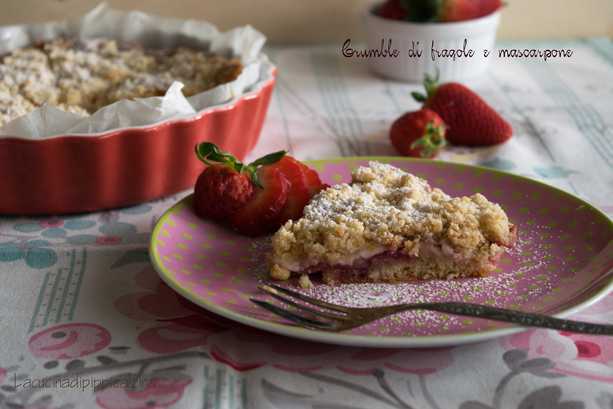 crumble-fragole
