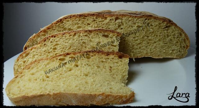 Pane di semola rimacinata con pasta madre (con prefermento)