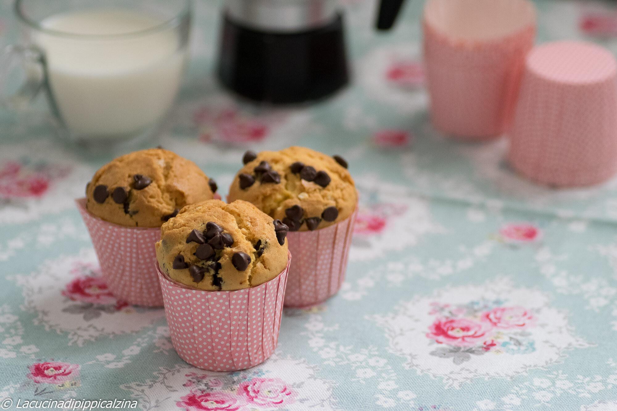 Muffin stracciatella