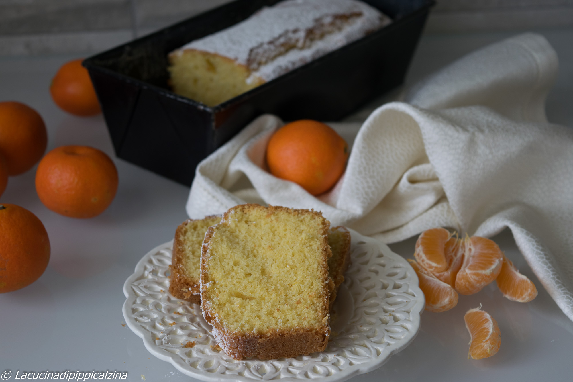 plumcake mandarini farina grano tenero ruggeri