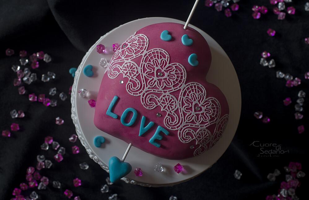 Torta Cuore di Cupido