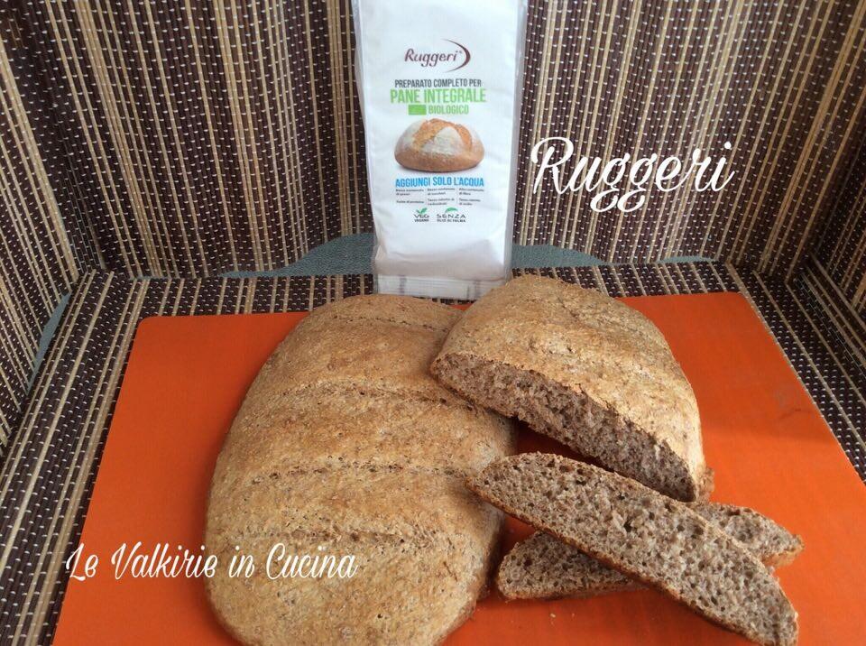 Pane con preparato per pane integrale bio