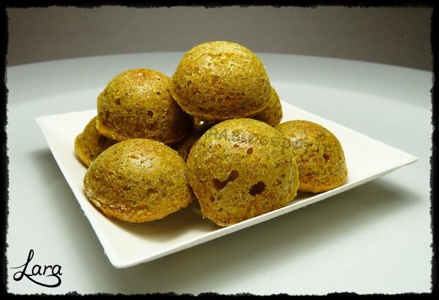 Mini camille con farina di canapa - Tortine di carote con farina di canapa (senza burro)