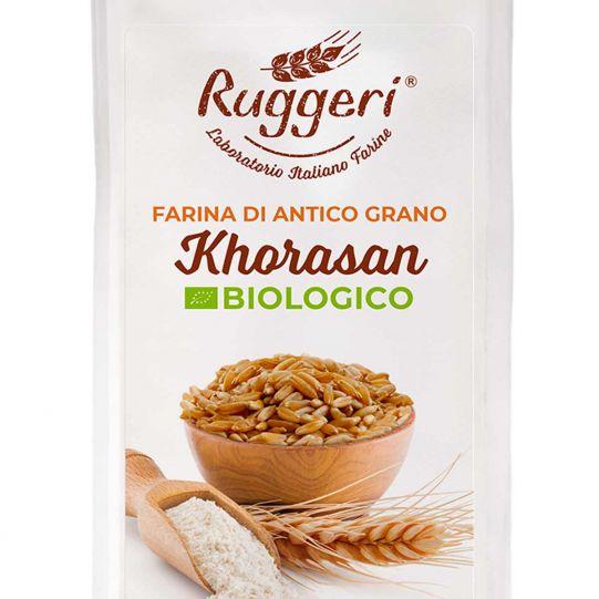 Farina di antico grano Khorasan bio