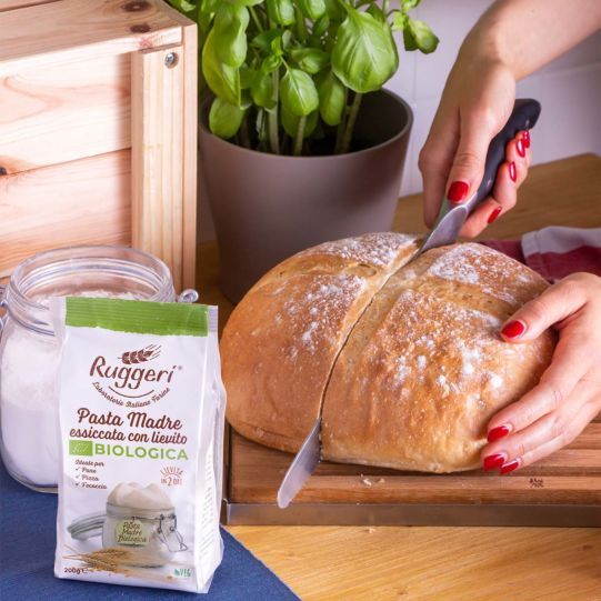 Organic dried spelt sourdough