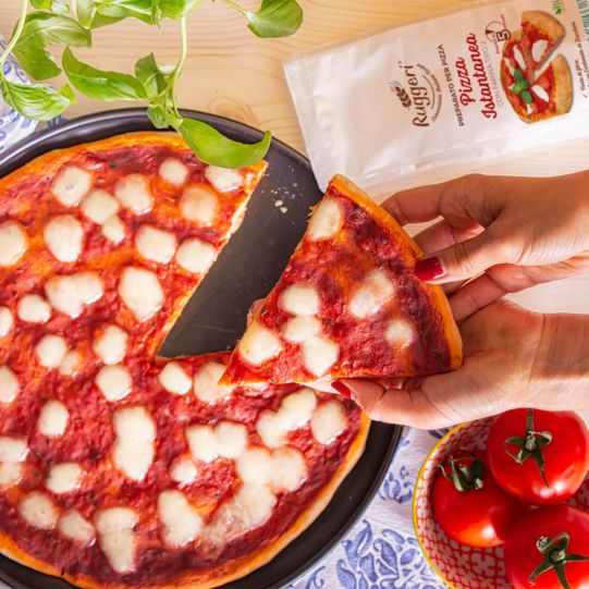 Istant pizza mix with type 2 wheat flour