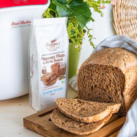 Pane con malto e semi tostati - Scadenza Breve