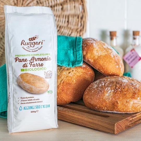 Complete Mix For Organic Spelt Harmonies Bread