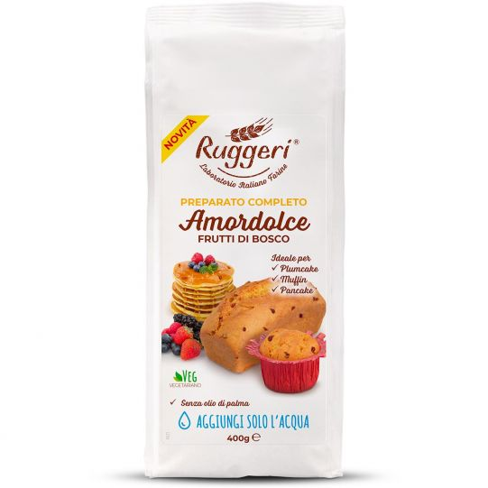 Amordolce Cake Mix With Berries
