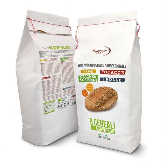 Semilavorato 9 Cereali Bio