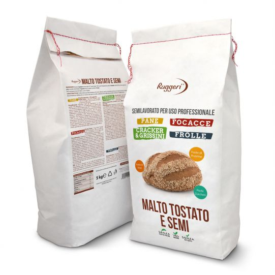 Toasted malt and seeds professional mix