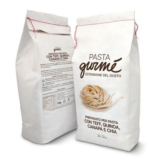 Pasta di Teff e Quinoa con Semi di Canapa e Chia