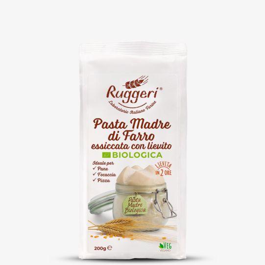 Pasta Madre di Farro essiccata con Lievito Biologica - Scadenza Breve