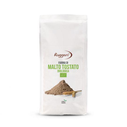 Organic Toasted Malt Flour