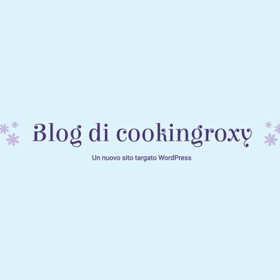 Cooking Roxy