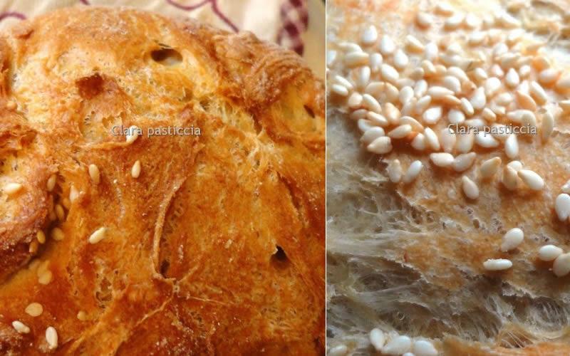 Pane Casereccio Cotto in Pentola | Pasta Madre Essiccata