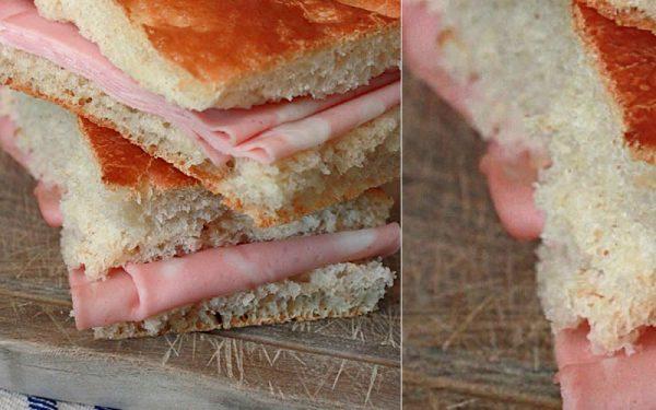 Focaccia genovese con pasta madre essiccata al parmigiano | Pasta Madre Essiccata
