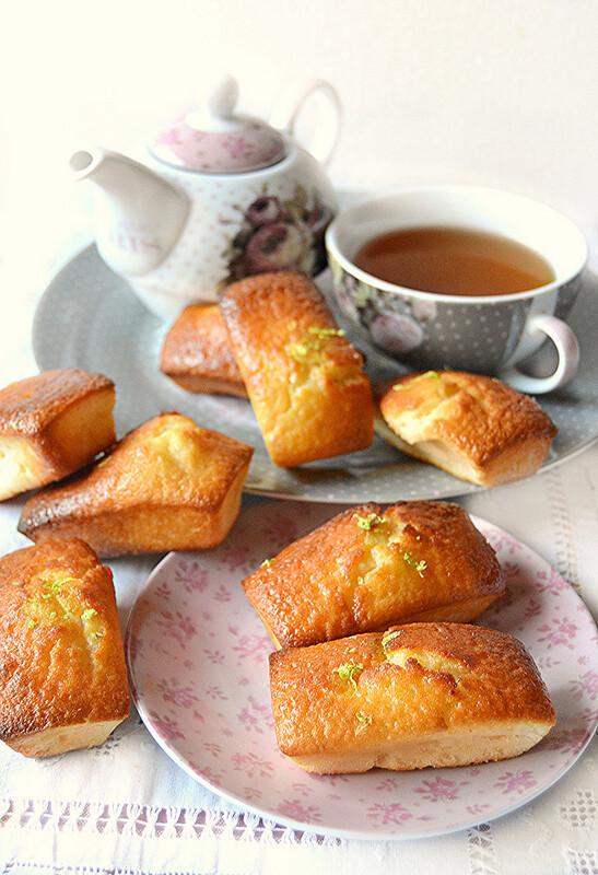 Mini plumcake al lime | Arifa Farina Bio