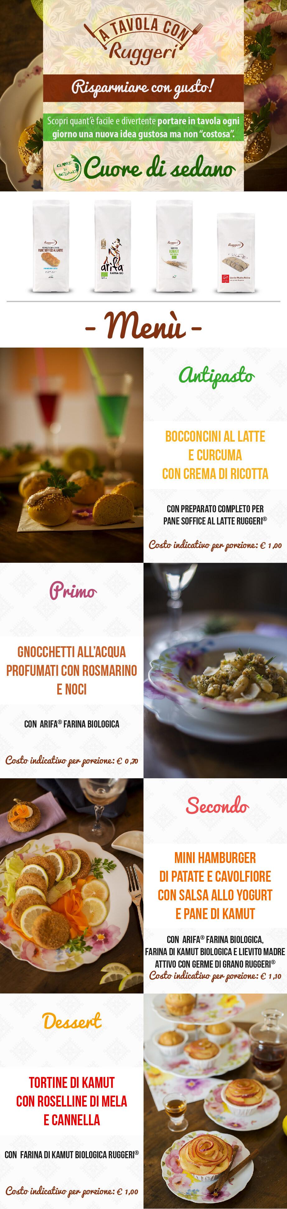 A tavola con Ruggeri - Made with Cuore di Sedano