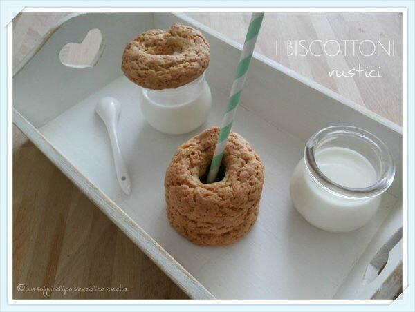 Biscottoni rustici o taralli dolci | Farina di Grano Tenero Tipo 1