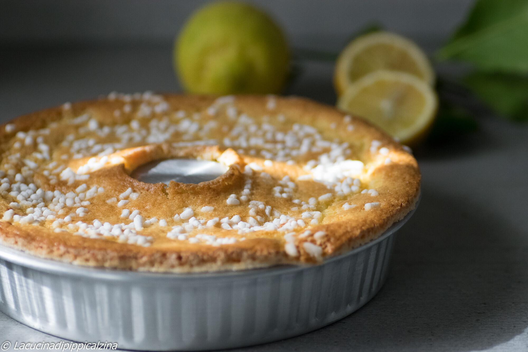 Pandolce al limone | Farina di Grano Tenero Tipo 1