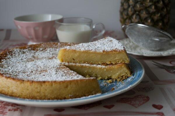 Torta fondente al cocco e ananas   Farina di Grano Tenero Macinata
