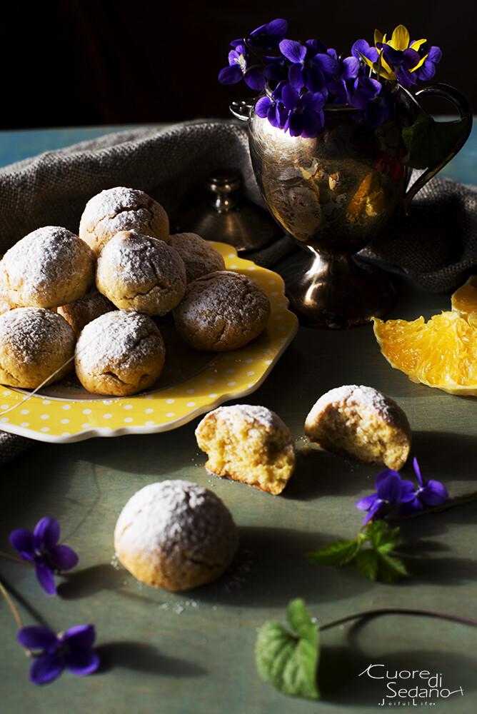 Biscotti di quinoa all'arancia