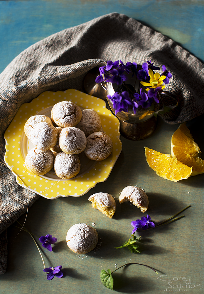 Biscottini alla quinoa e arancia | Farina di quinoa e Arifa
