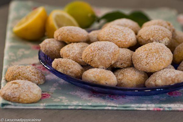 Biscotti friabili al limone   Farina di Grano Tenero Macinata a Pietra