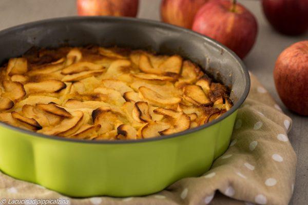 Torta di mele cremosa   Farina di Grano Tenero macinata a pietra