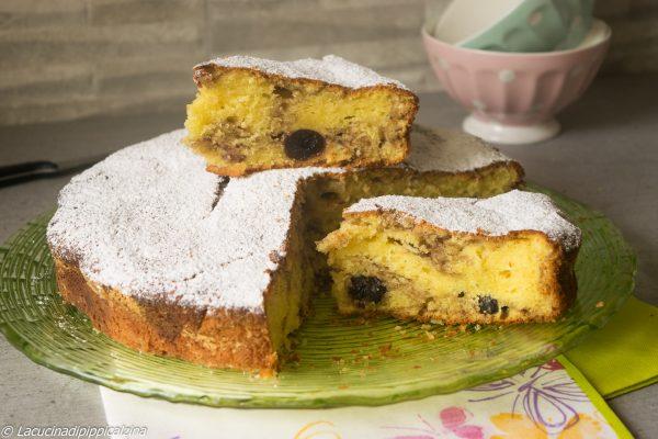 Torta alle ciliegie e yogurt greco   Farina di Grano Tenero Macinata a Pietra