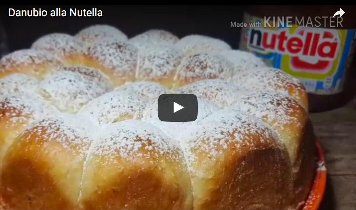Video ricetta, Danubio alla Nutella