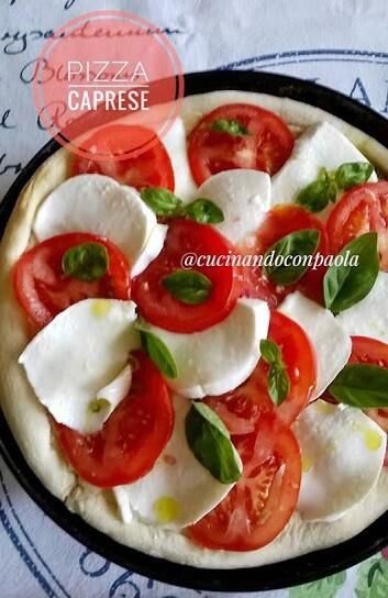 Pizza caprese fatta in casa | Farina di Grano Tenero e Coadiuvante PizzaEnzymes