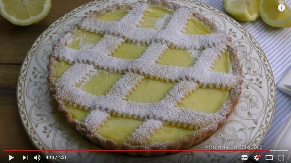 Crostata alla crema di limoni, ricetta perfetta e facile con Bimby