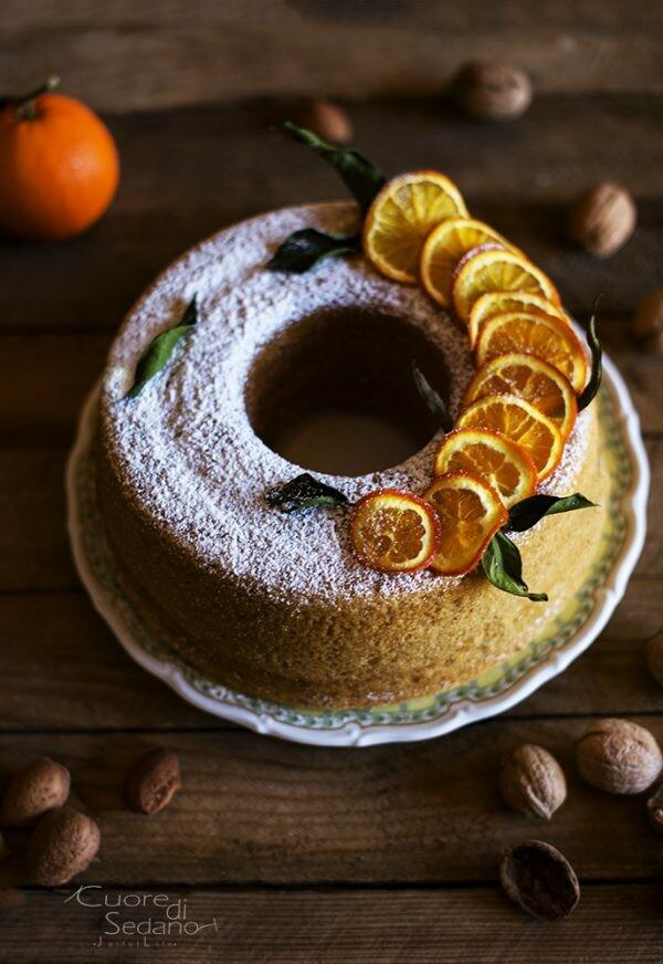 Ciambella speziata all'arancia | Farina di Farro Spelta