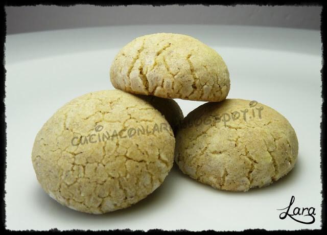 Biscotti al limone con farina di canapa (senza burro)