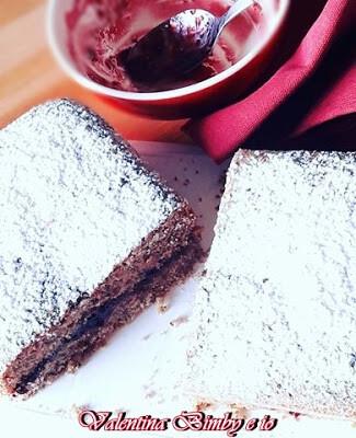 Plumcake al grano saraceno e marmellata