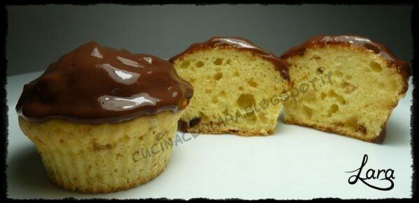 Muffin pera e cioccolato