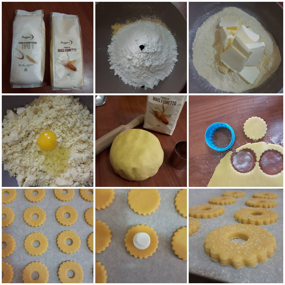 Biscotti al mais   Farina di Mais Fumetto e Farina di Grano Tenero Tipo 1