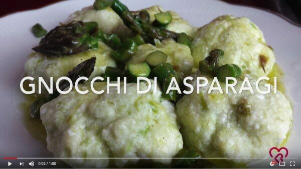 Video ricetta, Gnocchi agli asparagi con Arifa Farina Biologica