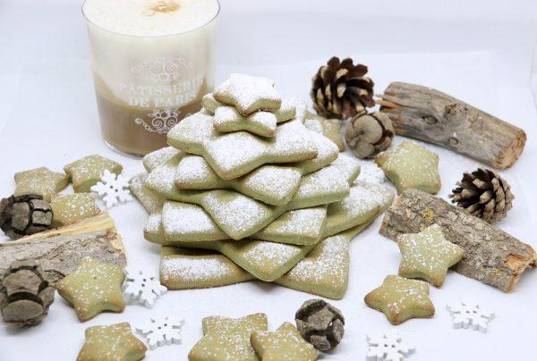 Albero di Natale di pasta frolla | Farina di Farro Spelta e Farina di Riso