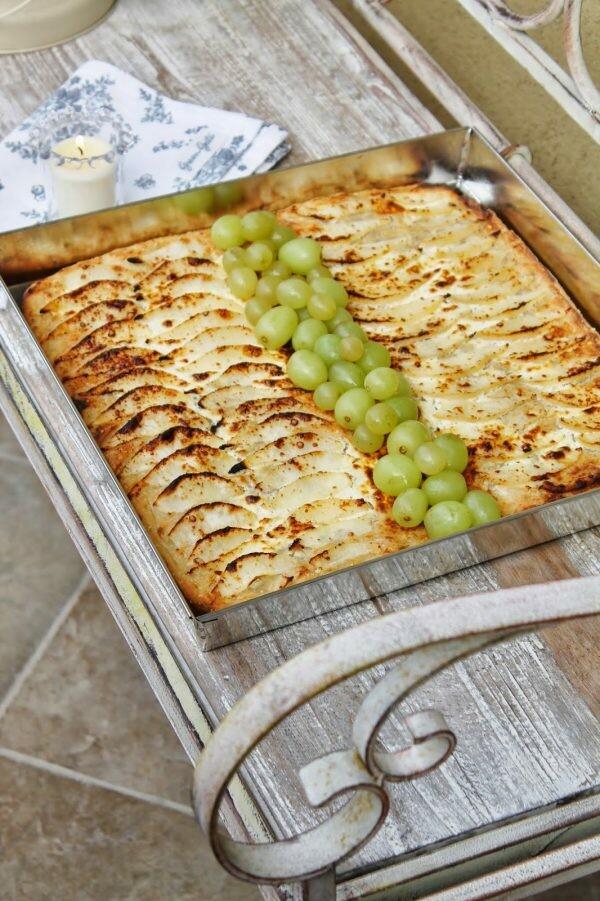Pane e Pizza pere, uova e formaggio | Arifa Farina Bio e Pasta Madre Essiccata