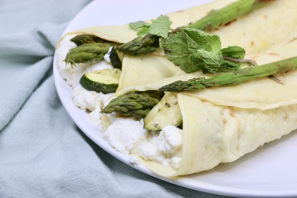 Crepes all'acqua | Farina di Farro Spelta