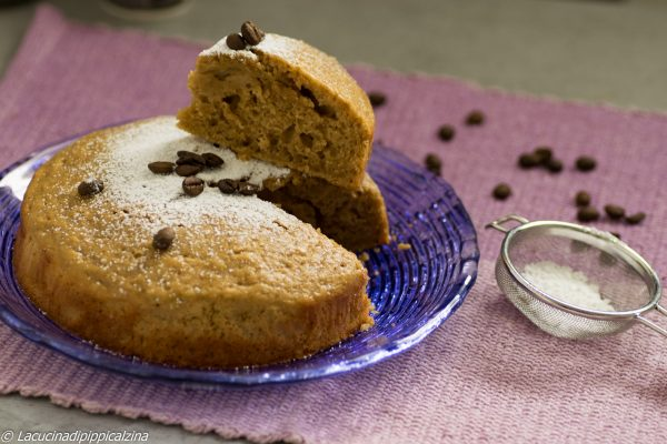 Torta umida ricotta e caffè | Farina di Grano Tenero Macinata a Pietra