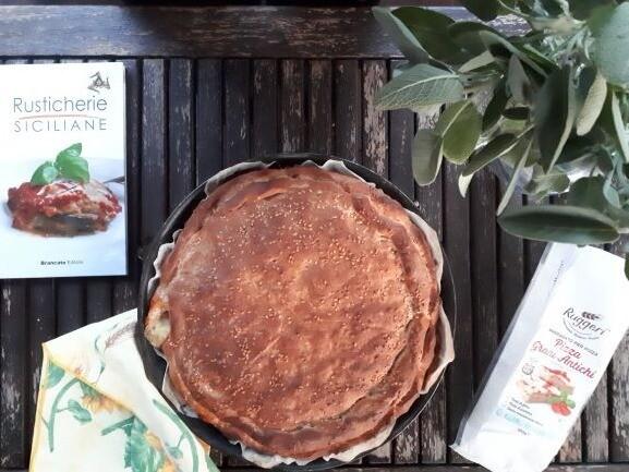 Scacciata Siciliana | Preparato Pizza ai Grani Antichi