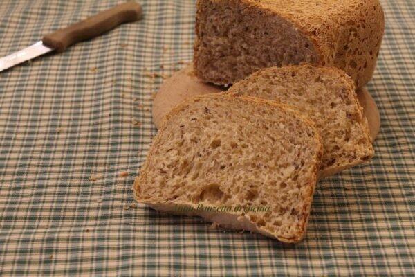 Pane ai cereali con macchina del pane | Preparato Pane 7 Cereali