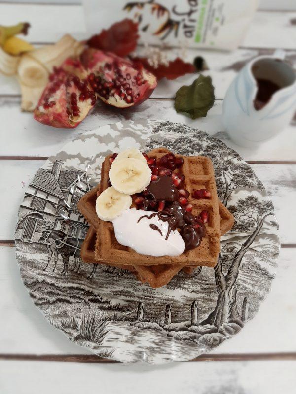 Waffle speziati al cacao | Arifa Farina Bio