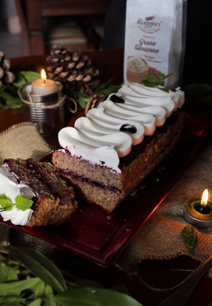 Plumcake al grano saraceno | Farina di Grano Saraceno