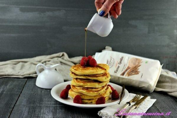 Pancake al farro | Farina di Farro Spelta